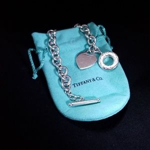 Tiffany & Co. Jewelry - Tiffany & Co. Heart Tag Charm Necklace